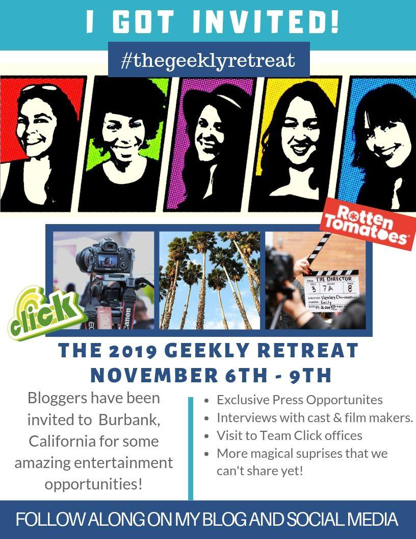 #TheGeeklyRetreat