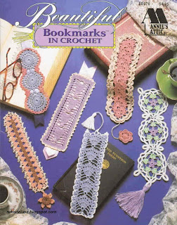 AA Beautiful Bookmarks in crochet 8B076