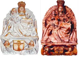 El misterio de las Vírgenes idénticas Virgen-iguales