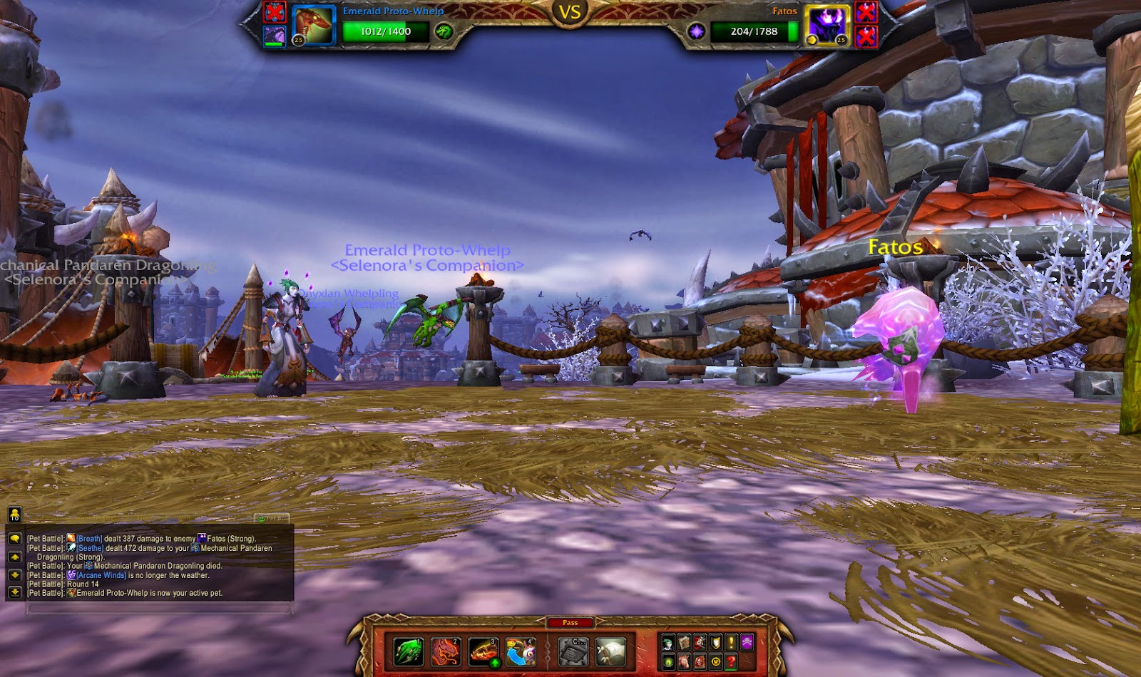Warcraft Pet Tricks: Fatos, Manos, & Hanos Garrison Pet ...