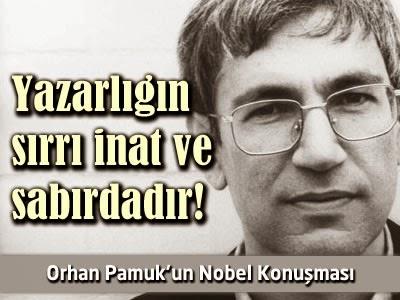 Nobel Konuşması