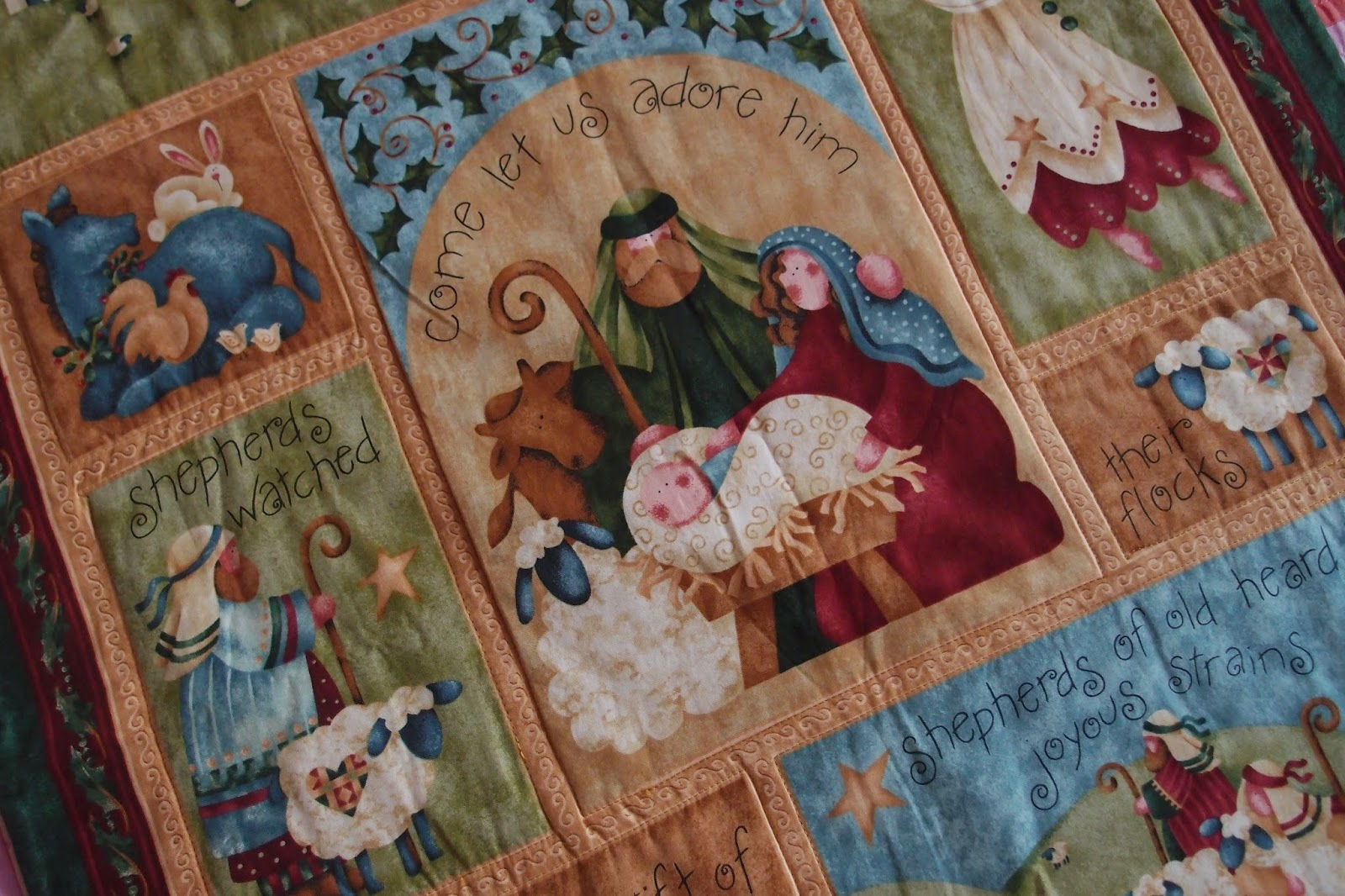 Christmas in a quilt