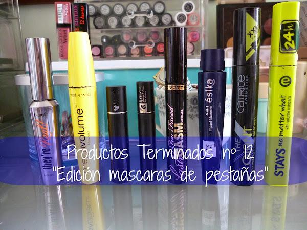 """Productos Terminados nº12 Edición """"Mascaras de Pestañas"""""""