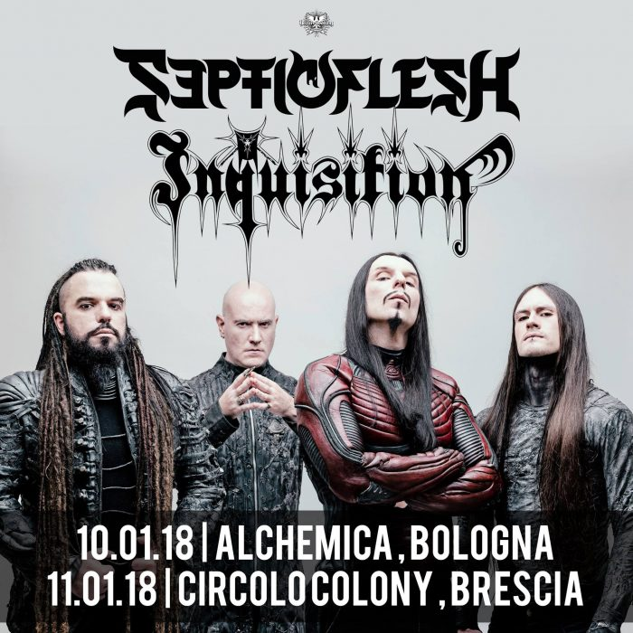 Septic Flesh - Bologna 10.01.2018