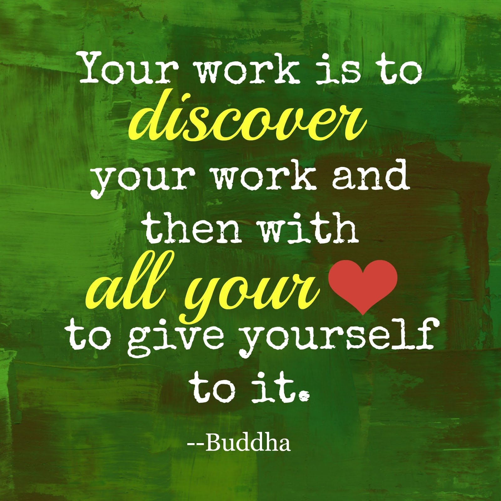 Buddha quote about work