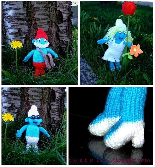 The Smurfs | c v e t u l k a knits