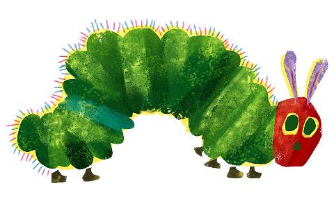 Kopitiam Corner: The Very Hungry Caterpillar begins its journey..