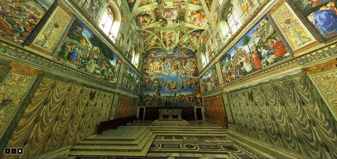 roma vaticano capela sistina