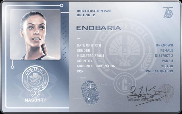 Enobaria Hunger Games Enobaria Hunger Games ...