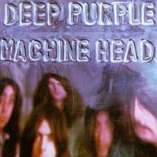 "Capa do vinil ""Machine Head"" do Deep Purple, de 1972"