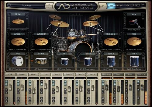 Addictive Drums 2.0.0 MAC Screenshot