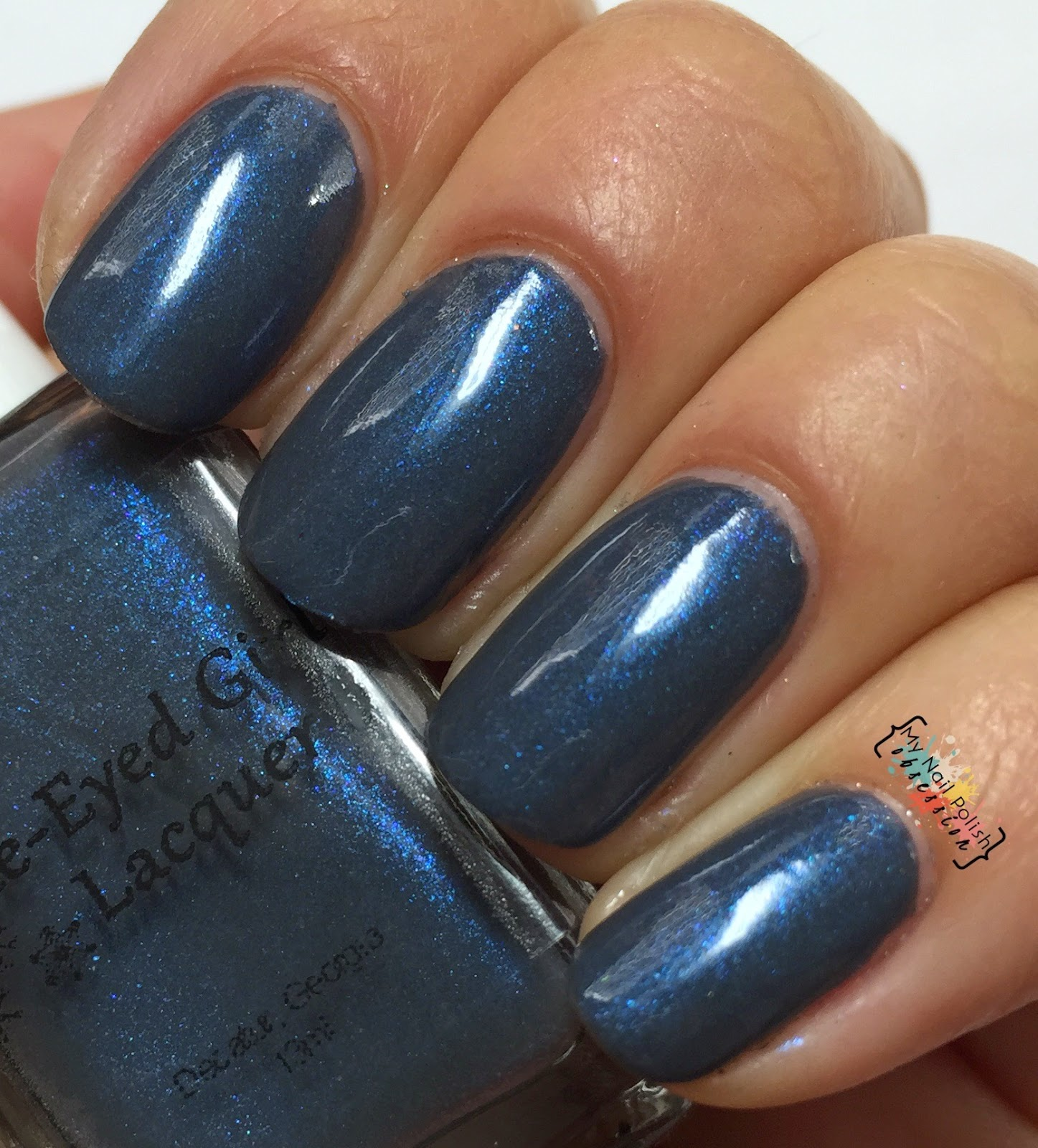 Blue Eyed Girl Lacquer It's Almost After Midnight