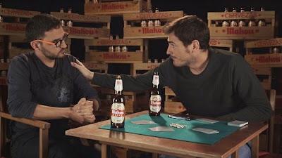 Iker Casillas jugando al mus