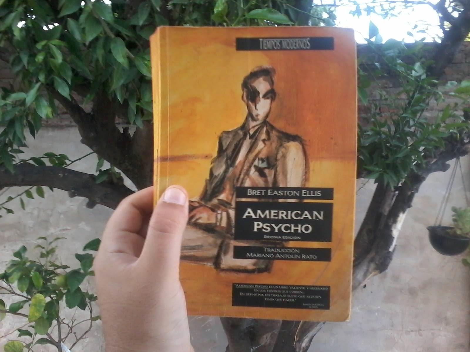 Psicopata Americano, Patrick Bateman, Bret Easton Ellis