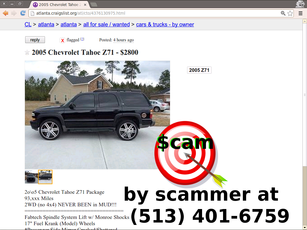 Autotrader Mitula Olx And Everywhere Else Too Scam Vehicle Scama Engine Wiring Harness