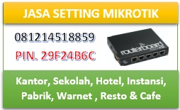 Jasa Training/Setting Mikrotik