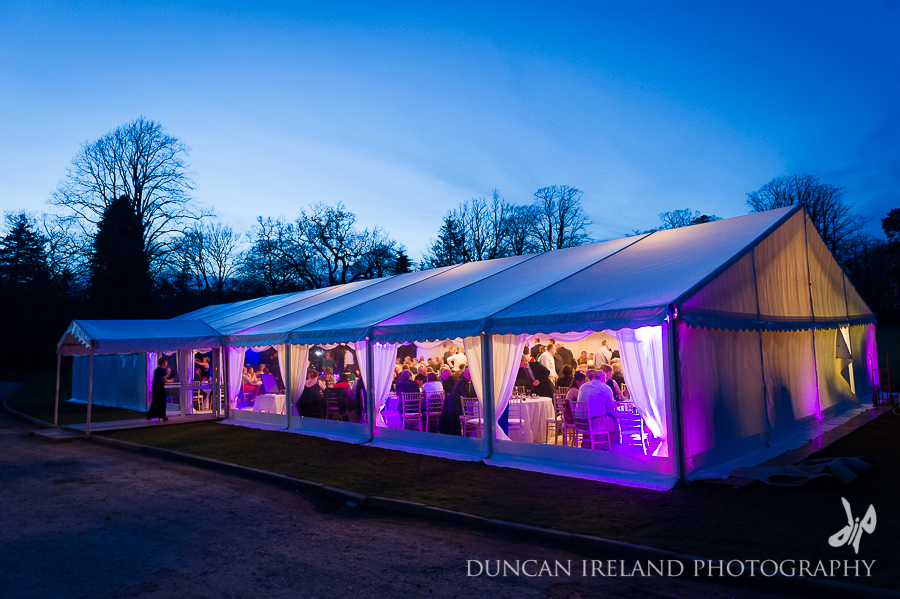 Dawn & Robert's Marquee Wedding at Springkell by Duncan Ireland Photography