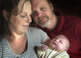 Couple welcomes 12th son