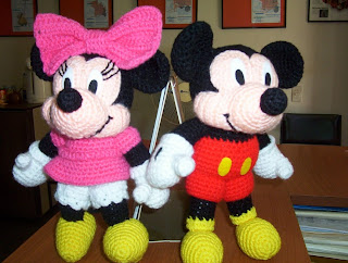 Patron Amigurumi Mini Mouse : Minnie Mouse Amigurumi Pattern Free Joy Studio Design ...