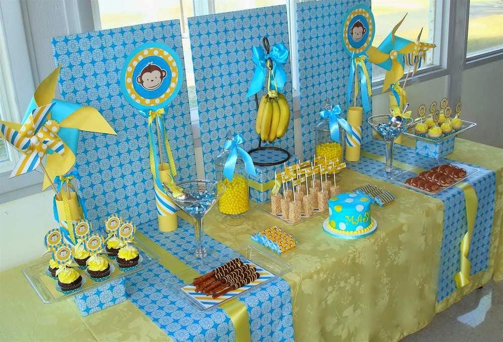 Decoração festa infantil bh macacos