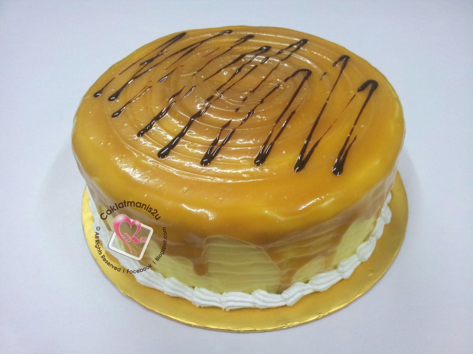 Almond Butterscotch Cake