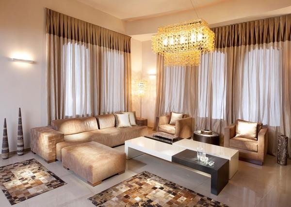 desain interior ruang tamu sempit mungil minimalis modern