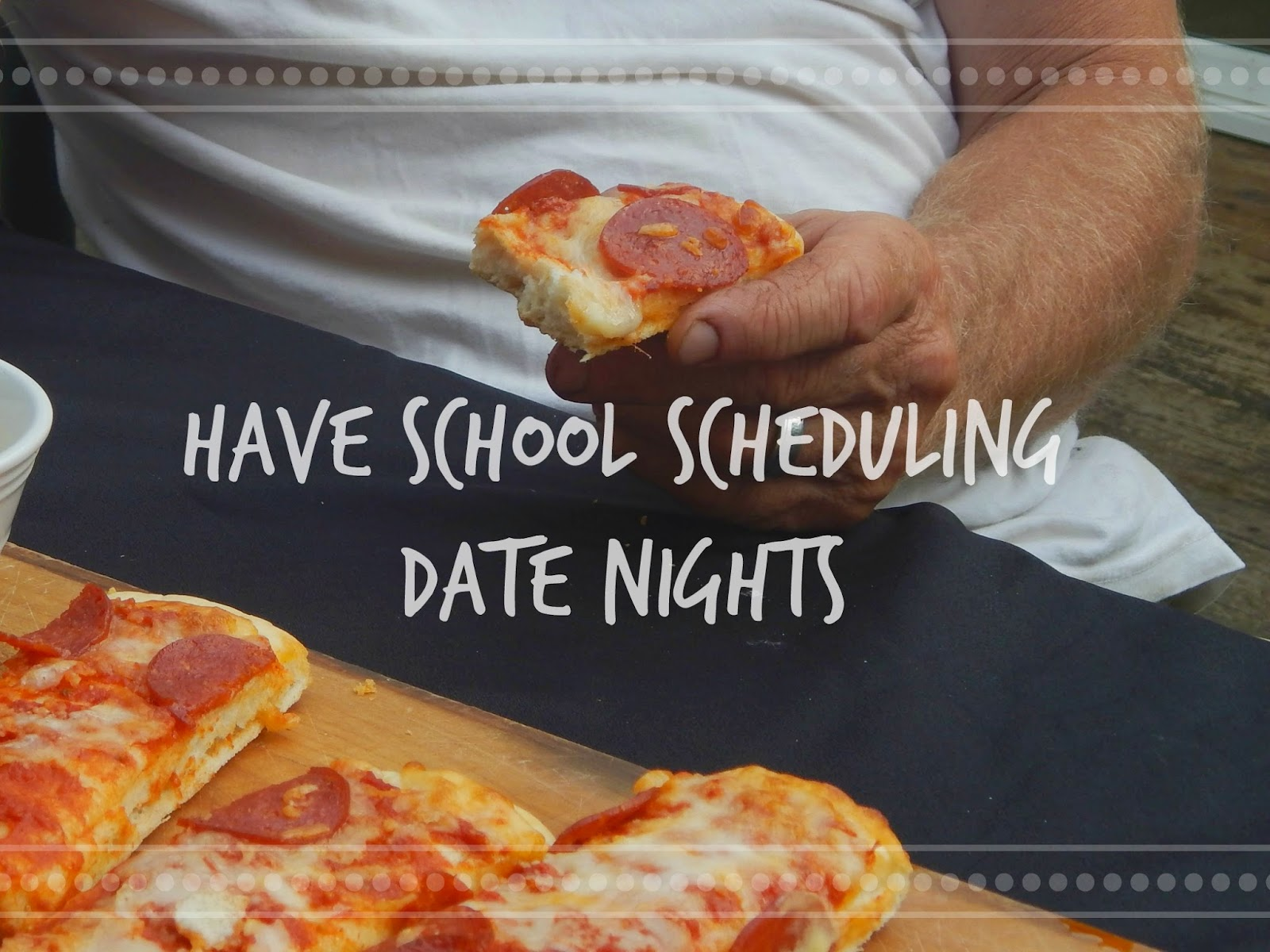 Have a school scheduling date night #FoodMadeSimple #shop #cbias