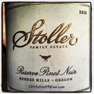 Stoller Family Estate 2010 Reserve Pinot Noir