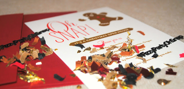 Oh Snap party invitation by Tiny Prints