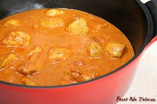 Bombay-curry, indyjskie curry z kurczaka