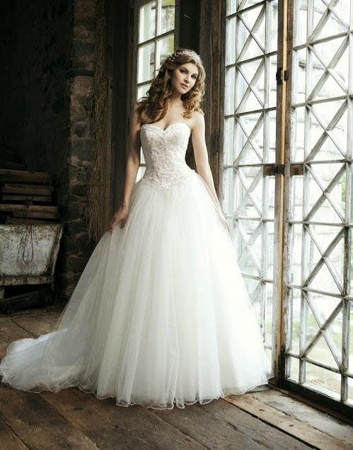 White Princess Wedding Dresses Long Trains Photos Concepts Ideas