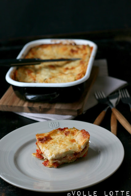selber machen, kochen, backen, Italien, Ofen, Tomaten, Gemüselasagne