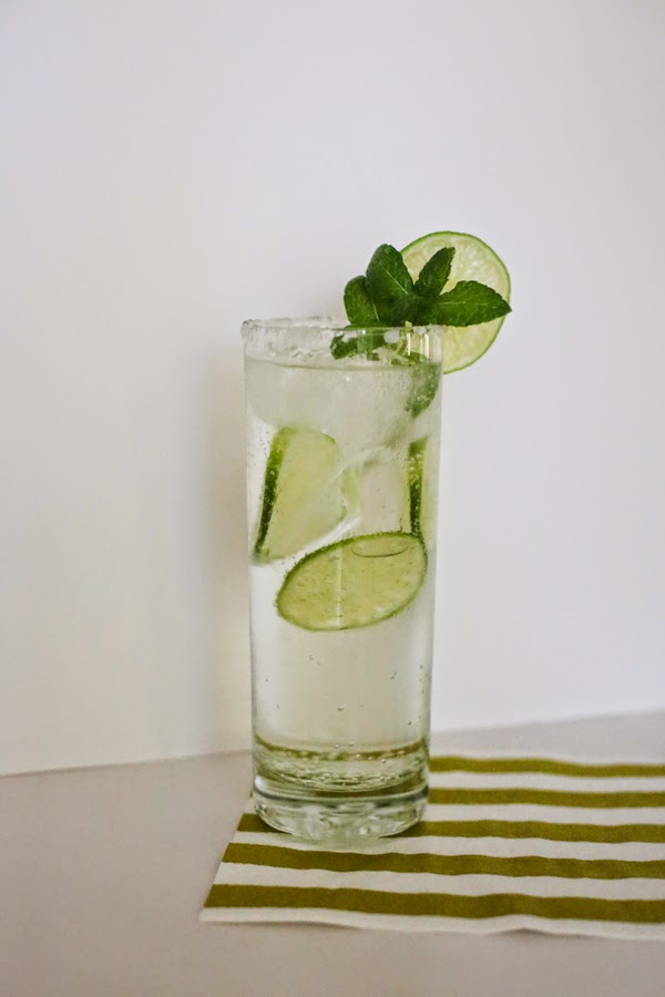 Virgin Mint Mojito #mocktail