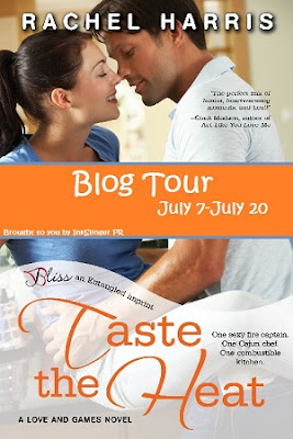 Taste the Heat Tour: Review and Giveaway