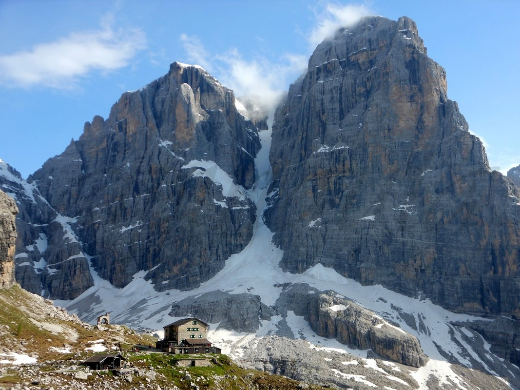 alpinauta: Cima Tosa, Canalone Neri