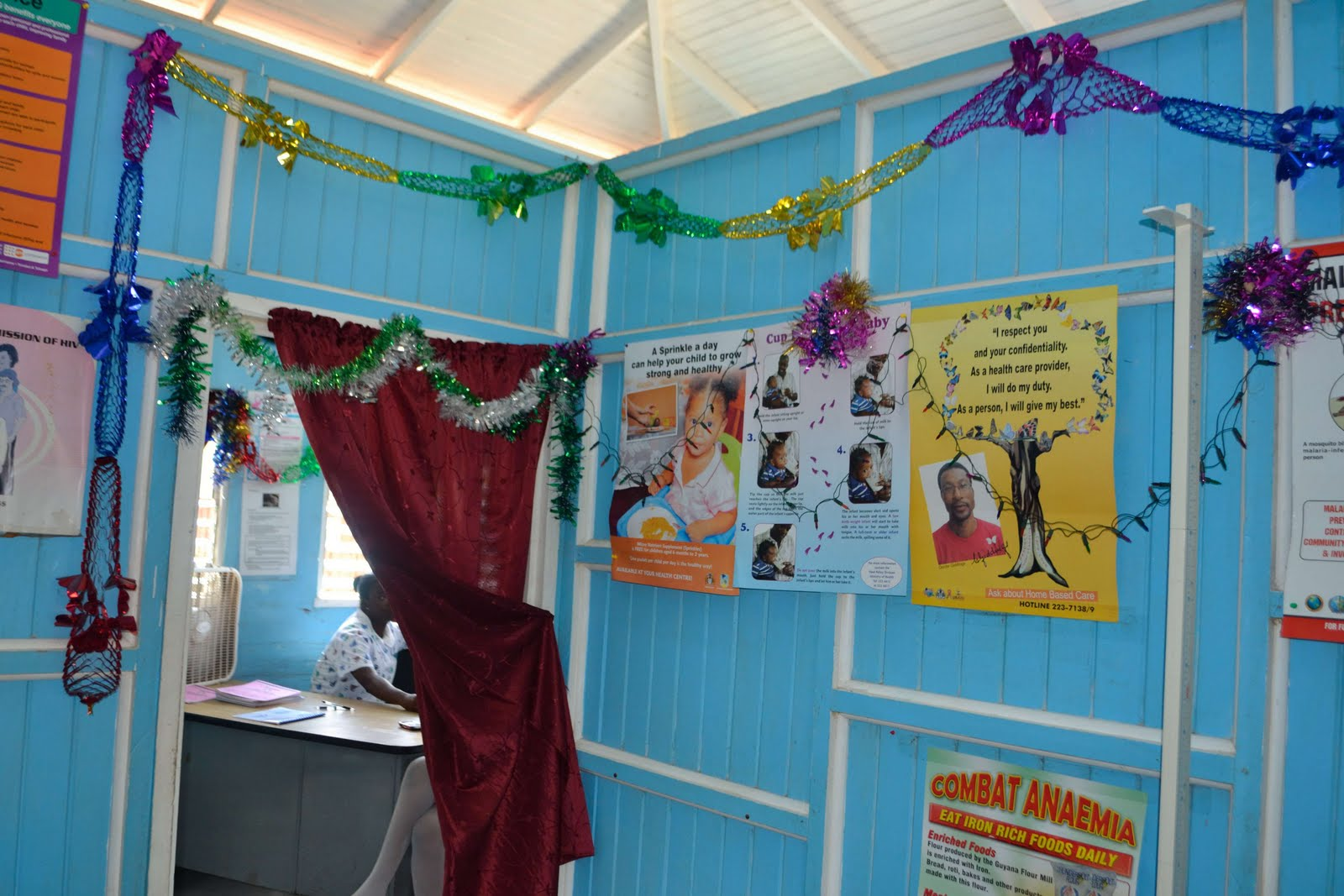 School Clinic Decorations Tibbs Travels Holidays In Guyana
