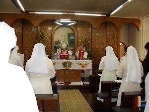Comunhão c/ os irmãos na Eucarístia