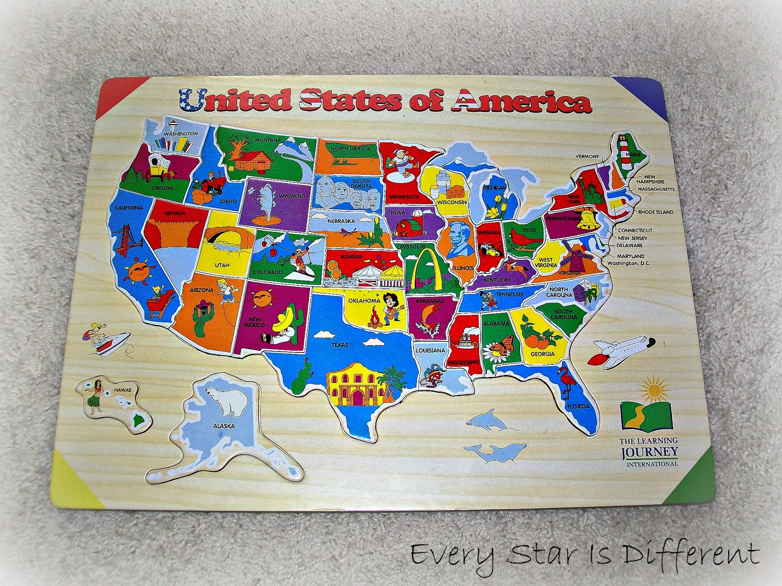 Printable United States Map Puzzle For Kids Make Your Own Puzzle Usa Map Sound Puzzle
