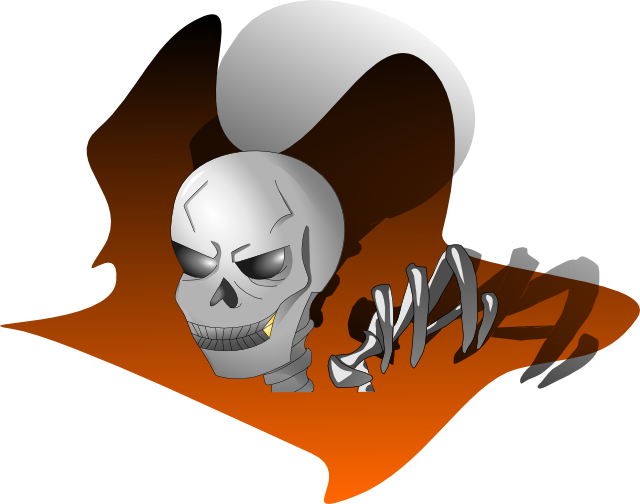 Skeleton From the Dark