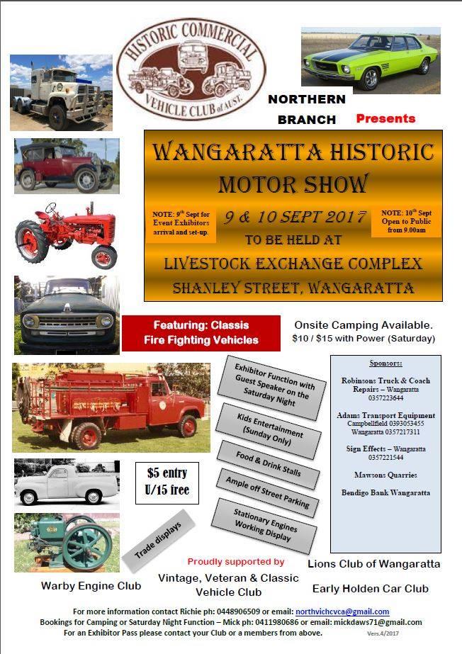 Wangaratta Historic Motor Show
