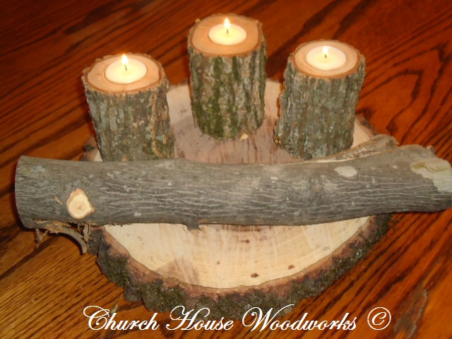 Church house collection inch large hickory wood