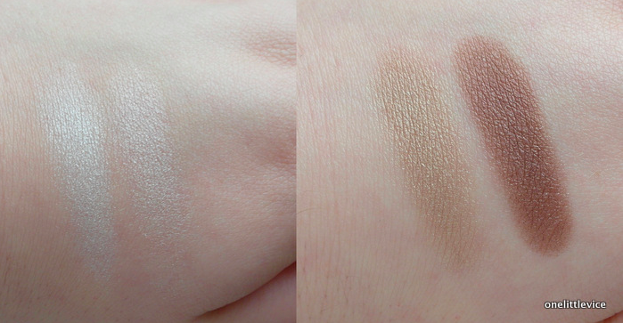 One Little Vice Beauty Blog: Green People Eye Duo Swatches