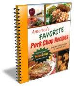 Free eCookbook: America's Favorite Pork Chop Recipes