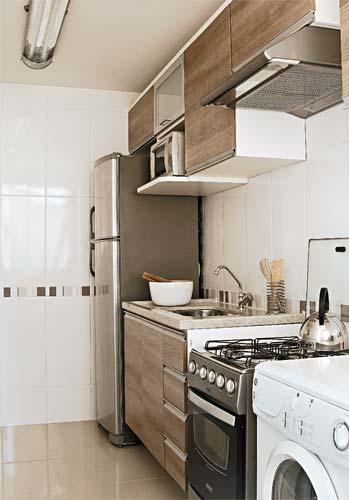 Cozinhas funcionais  Belas Artes -> Armario Para Banheiro Pequeno Casas Bahia