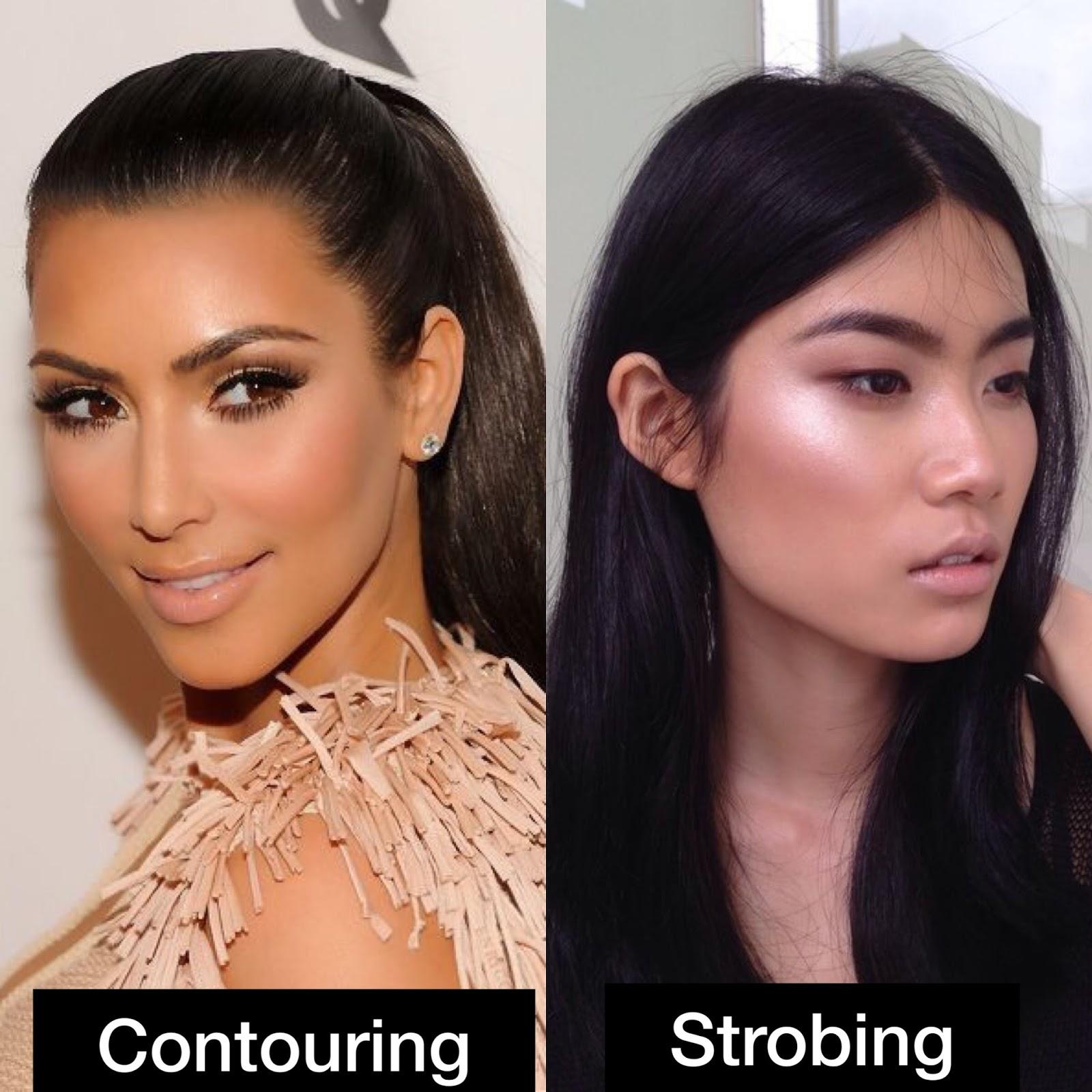 contouring vs strobing