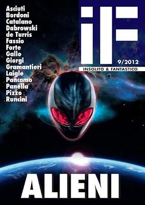 Alieni: IF – Insolito e Fantastico #9, 2012, copertina