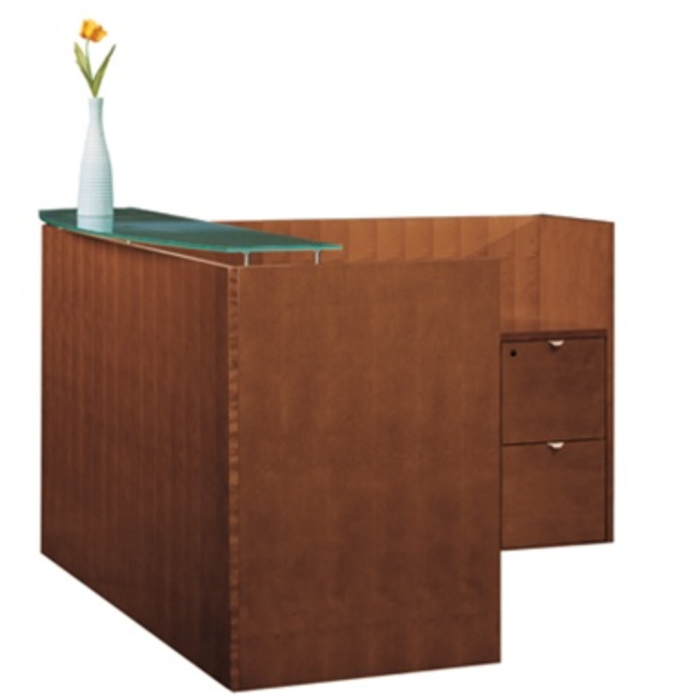 Cherryman Jade Reception Desk