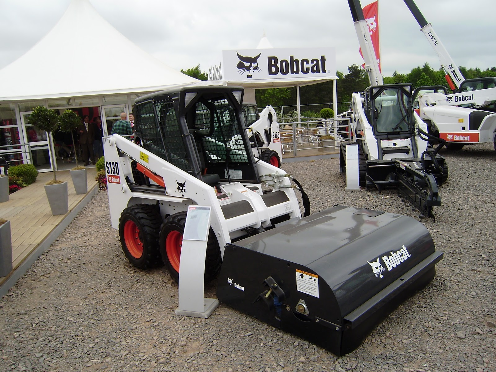 Aspal Bobcat S185 Skid Steer Loader