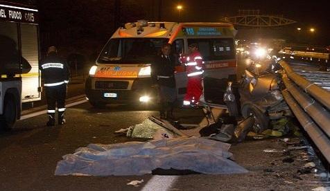 Grave incidente sulla Catania-Palermo: muore bimba di due mesi$