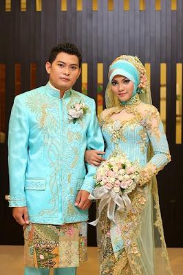 baju pengantin islami